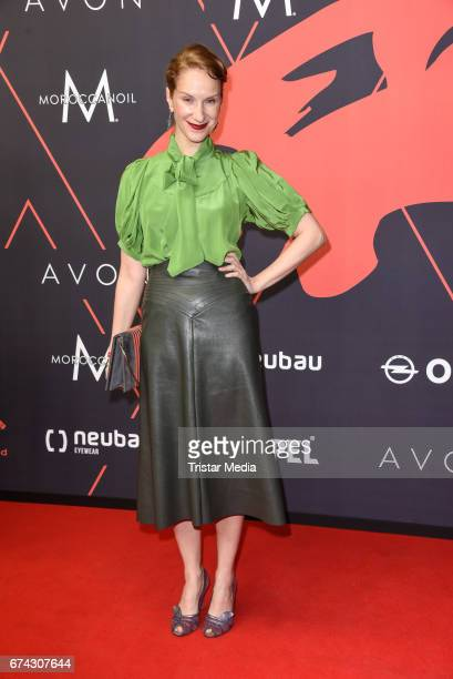 Chiara Schoras attends the New Faces Award Film at Haus Ungarn on April 27 2017 in Berlin Germany