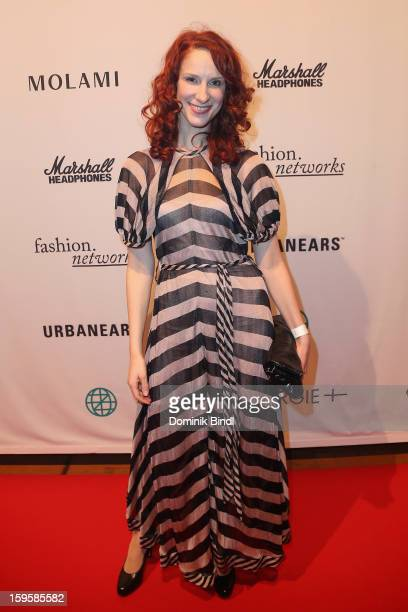 Chiara Schoras attends the Swergie event during MercedesBenz Fashion Week Autumn/Winter 2013/14 on January 16 2013 in Berlin Germany