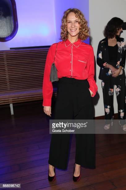 Chiara Schoras during the ARD advent dinner hosted by the program director of the tv station Erstes Deutsches Fernsehen at Hotel Bayerischer Hof on...