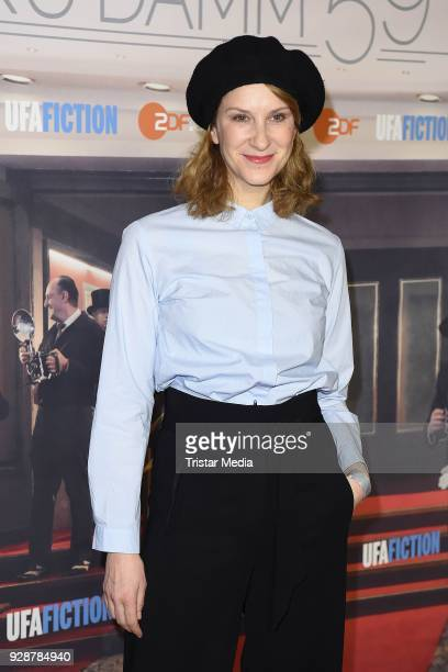 Chiara Schoras during the premiere of 'Ku'damm 59' at Cinema Paris on March 7 2018 in Berlin Germany
