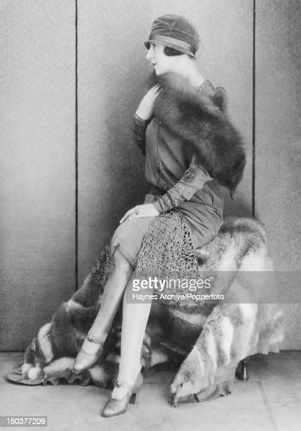 A chic Argentinian woman in a studio in Buenos Aires 1926