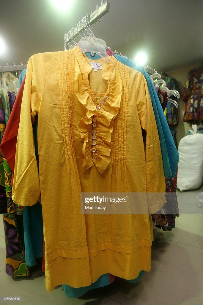 A view of the Paharganj Market In Delhi : Nieuwsfoto's