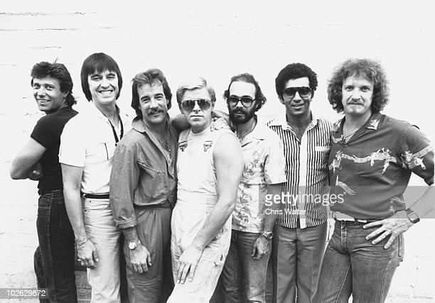 Chicago 1980 Robert Lamm Walt Parazaider James Pankow Peter Cetera Danny Seraphine Laudir de Oliveira and Lee Loughnane
