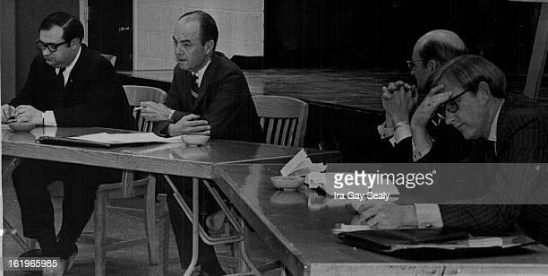MAR 22 1970 MAR 30 1970 Chicago 8 Panel of three lawyers and Judge discuss contempt of Court as it applied in the trial of the Chicago Seven From...