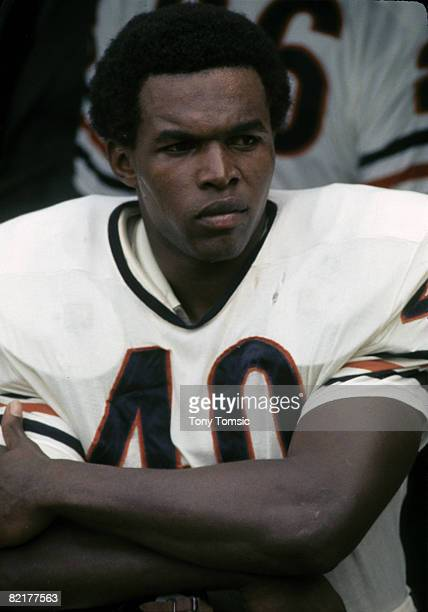 Chicago Bears Hall of Fame running back Gale Sayers in 1969