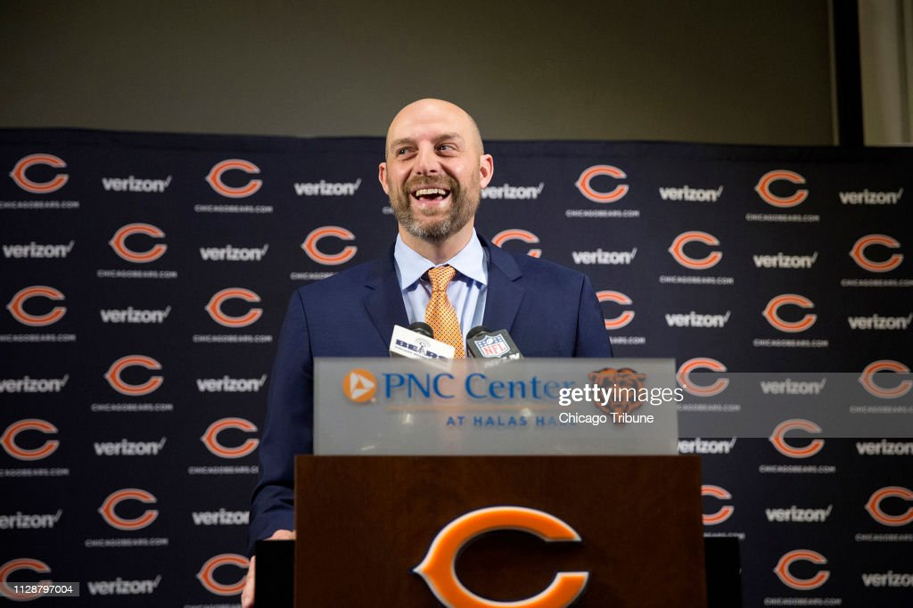 'We were going to win the Super Bowl': Matt Nagy is still energized by his team's response to its playoff loss : ニュース写真