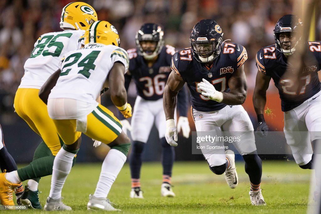 NFL: SEP 05 Packers at Bears : News Photo