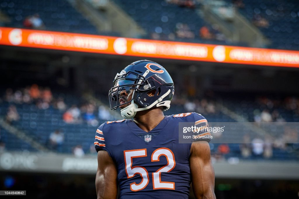 NFL: SEP 17 Seahawks at Bears : News Photo