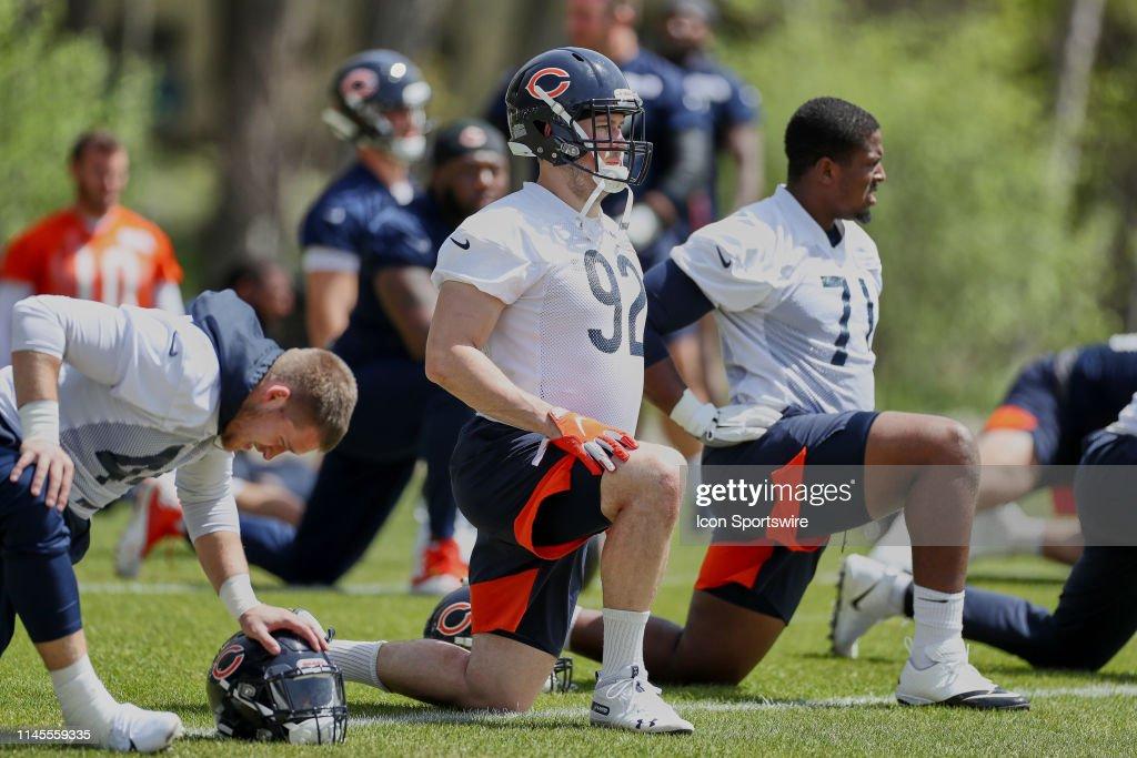 NFL: MAY 22 Chicago Bears OTA : ニュース写真