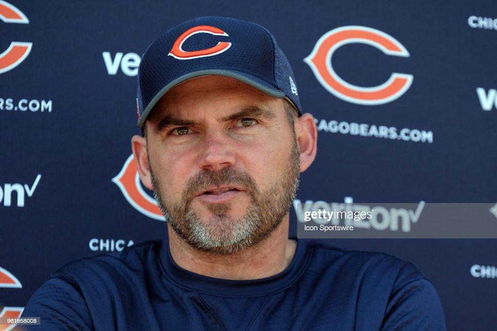 NFL: MAY 23 Bears OTA : News Photo