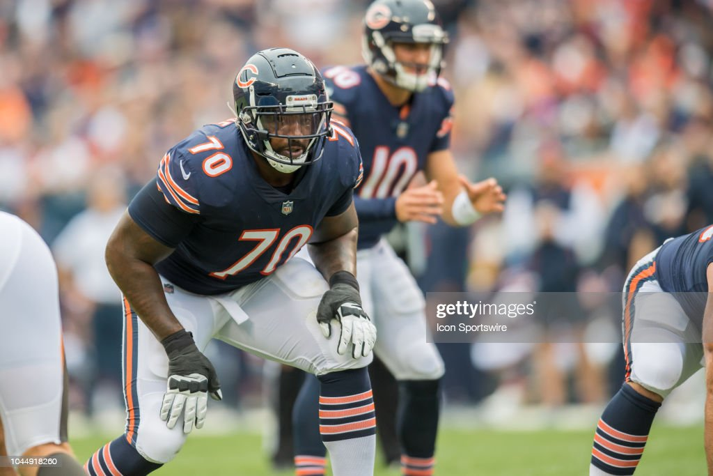 NFL: SEP 30 Buccaneers at Bears : News Photo