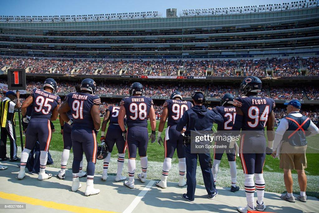Chicago Bears outside linebacker Leonard Floyd , Chicago