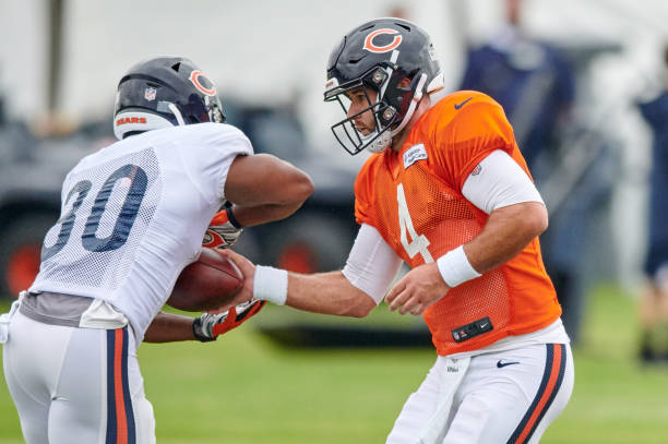 c5bbc0880ea NFL: JUL 22 Bears Training Camp Pictures | Getty Images