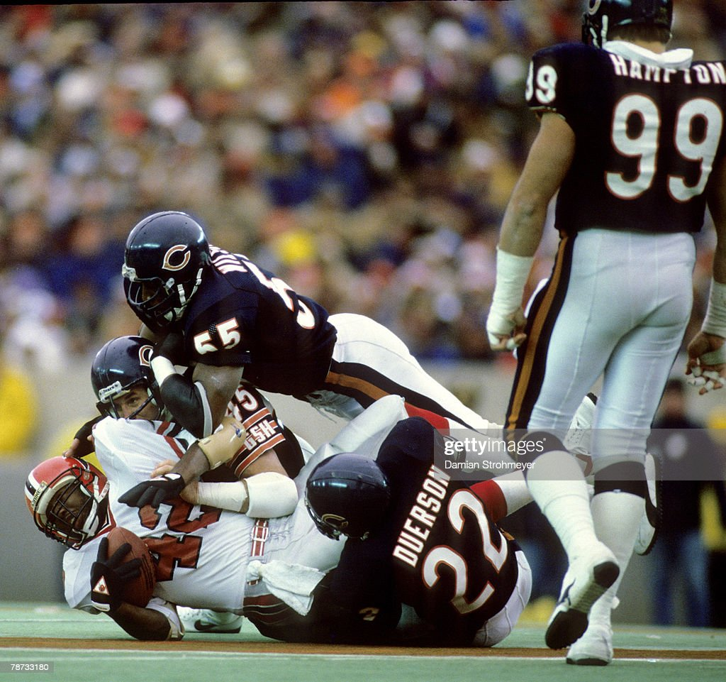online store 20f56 7c0e7 Chicago Bears safeties Gary Fencik and Dave Duerson and ...