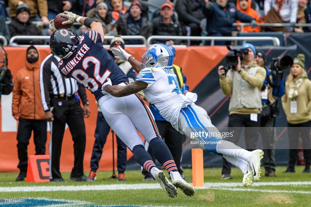 NFL: NOV 10 Lions at Bears : News Photo
