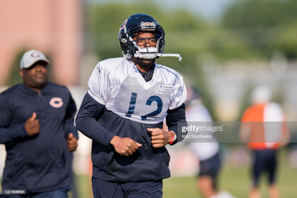 NFL: JUL 30 Bears Training Camp : News Photo