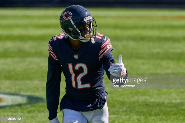 Chicago Bears wide receiver Allen Robinson in action during a game between the Chicago Bears and the New York Giants on September 20, 2020 at Soldier...