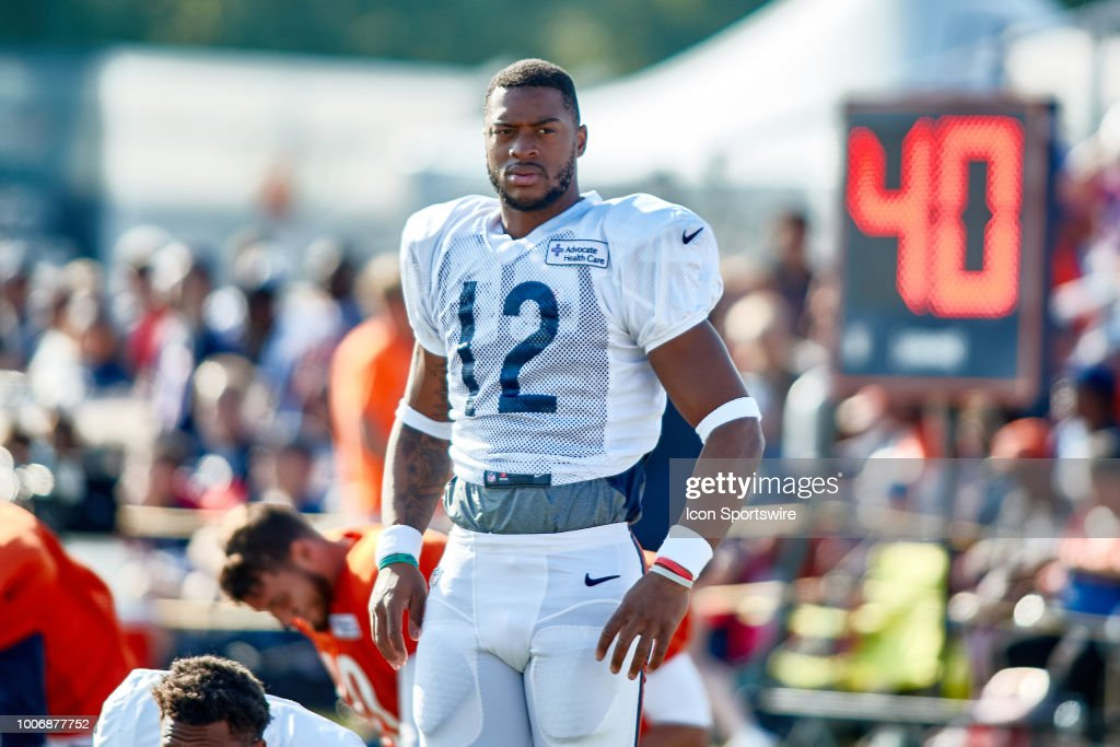 NFL: JUL 28 Bears Training Camp : News Photo