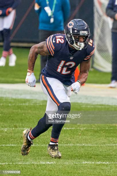 Chicago Bears wide receiver Allen Robinson runs in action during a game between the Chicago Bears and the Detroit Lions on December 06 at Soldier...