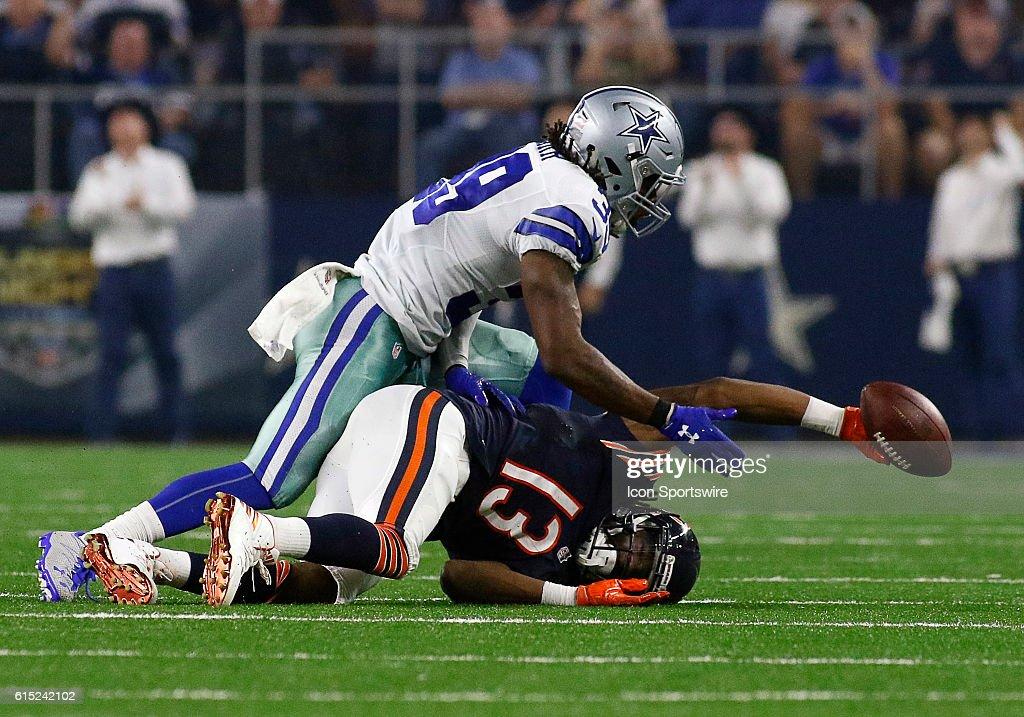 NFL: SEP 25 Bears at Cowboys : News Photo