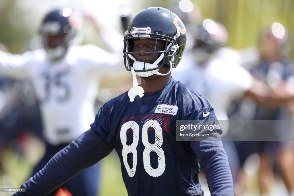 NFL: MAY 22 Chicago Bears OTA : News Photo