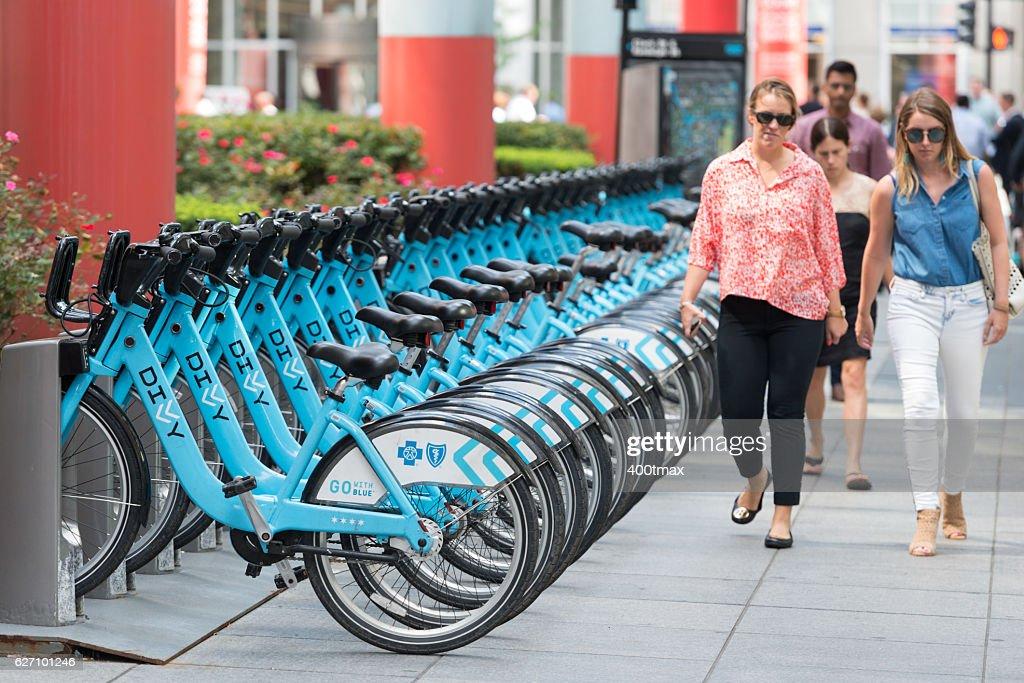Chicago Bike Sharing : Stock Photo