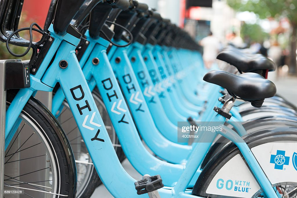 Chicago Bike Sharing : Stock Photo