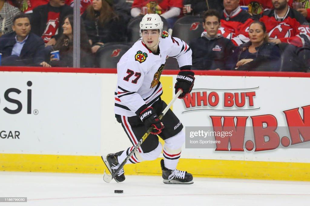 NHL: DEC 06 Blackhawks at Devils : News Photo
