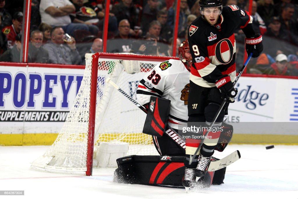 NHL: MAR 16 Blackhawks at Senators : News Photo