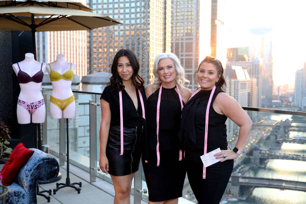 Supermodel Martha Hunt And Chicago Bra Fit Experts Celebrate The All New Sexy Illusions Collection