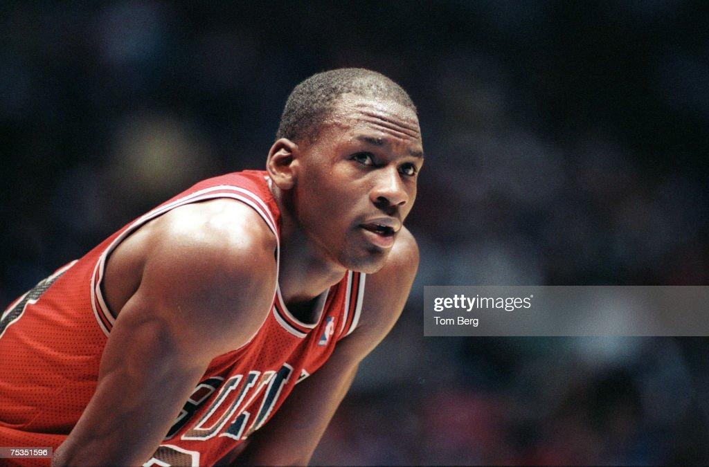Michael Jordan - Chicago Bulls File Photos : Fotografia de notícias