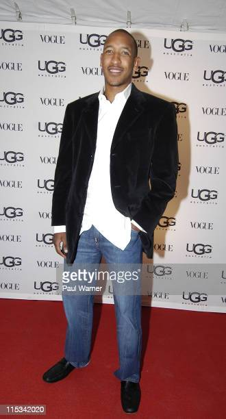 Chicago Bulls guard Chris Duhon attends the Vogue and UGG Australia Store Opening on October 11 2007 in Chicago