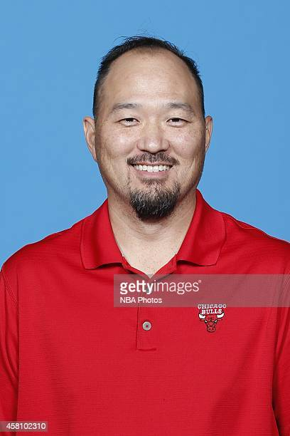 Chicago Bulls Head Athletic Trainer Jeff Tanaka poses for a picture as part of 201415 NBA Media Day at The Advocate Center on September 29 2014 in...