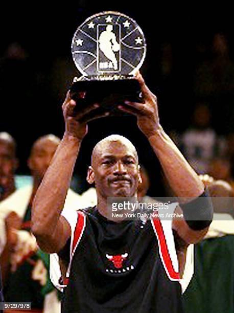 new product 6a371 1e0b2 Chicago Bulls Michael Jordan MVP of the 1998 AllStar Game at Madison Square  Garden