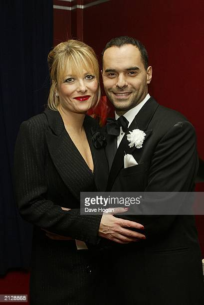 Chicago cast members Gaby Roslin and Michael Greco attend the musical's 5th birthday at the Adelphi Theatre on Novemebr 19 in London, England. Former...