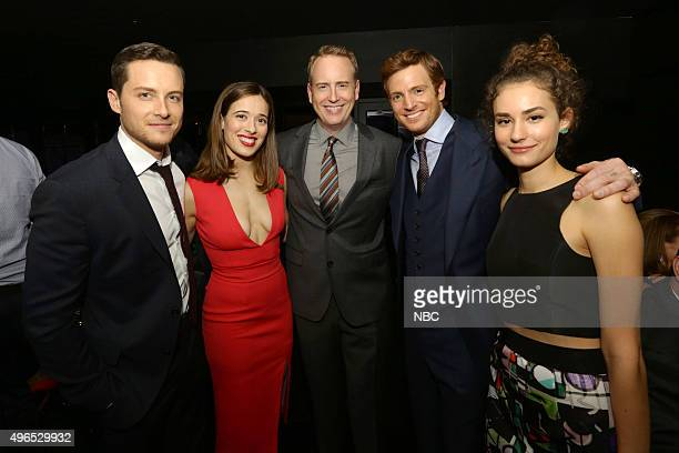 EVENTS NBC Chicago Celebration Party Pictured Colin Donnell Chicago Med Marina Squerciati Chicago PD Robert Greenblatt Chairman NBC Entertainment...
