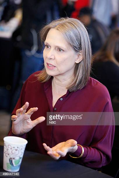 EVENTS 'NBC Chicago Celebration' Pictured Amy Morton 'Chicago PD' at Cinespace Chicago Film Studios on November 9 2015