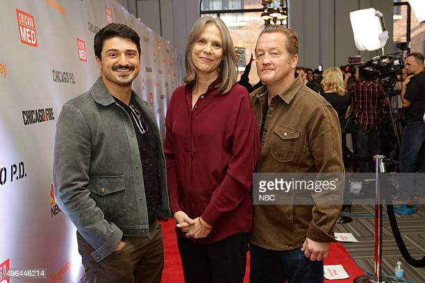 EVENTS 'NBC Chicago Celebration' Pictured Yuri Sardarov 'Chicago Fire' Amy Morton 'Chicago PD' Christian Stolte 'Chicago Fire' at Cinespace Chicago...