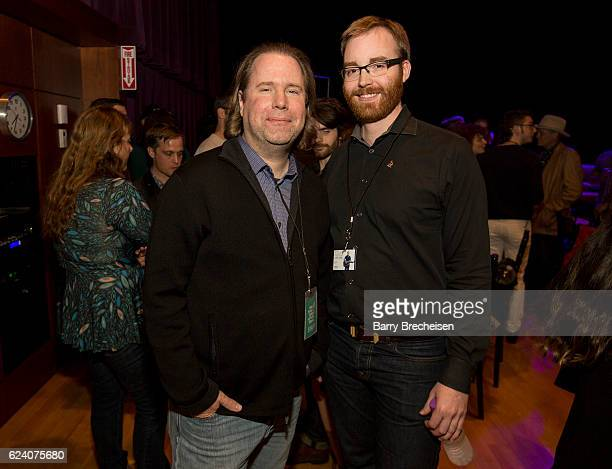 Chicago Chapter and Old School of Folk members mingle during the GRAMMY Up Close Personal with Jason Isbell and David Macias at Old Town School of...