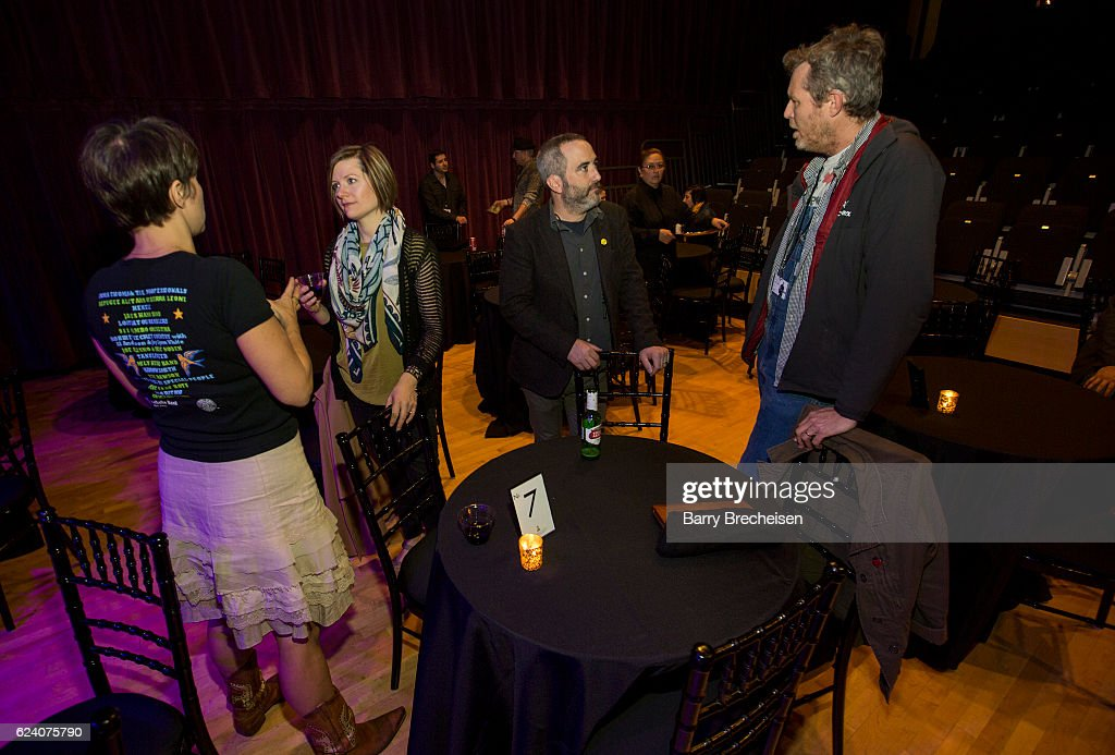 Chicago Chapter and Old School of Folk members mingle during the GRAMMY Up Close & Personal with Jason Isbell and David Macias at Old Town School of Folk Music on November 17, 2016 in Chicago, Illinois.
