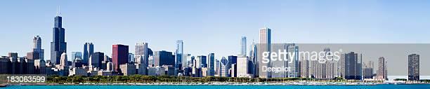 Chicago City Grant Park Skyline USA
