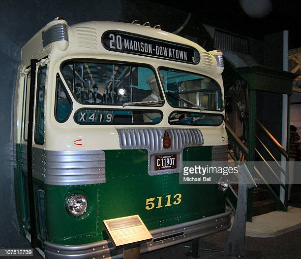Chicago City Transit Bus at the National Museum of American History