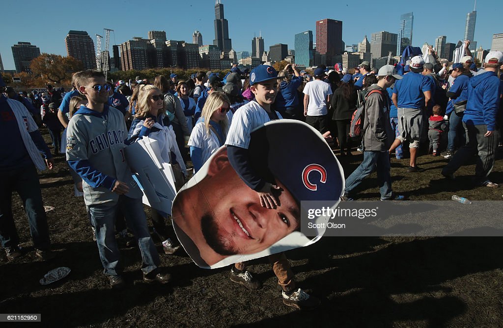 Chicago Cubs Victory Celebration : News Photo