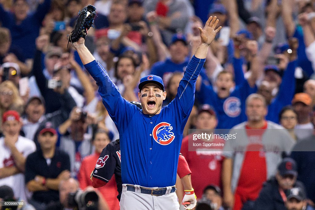 MLB: NOV 02 World Series - Game 7 - Cubs at Indians : News Photo