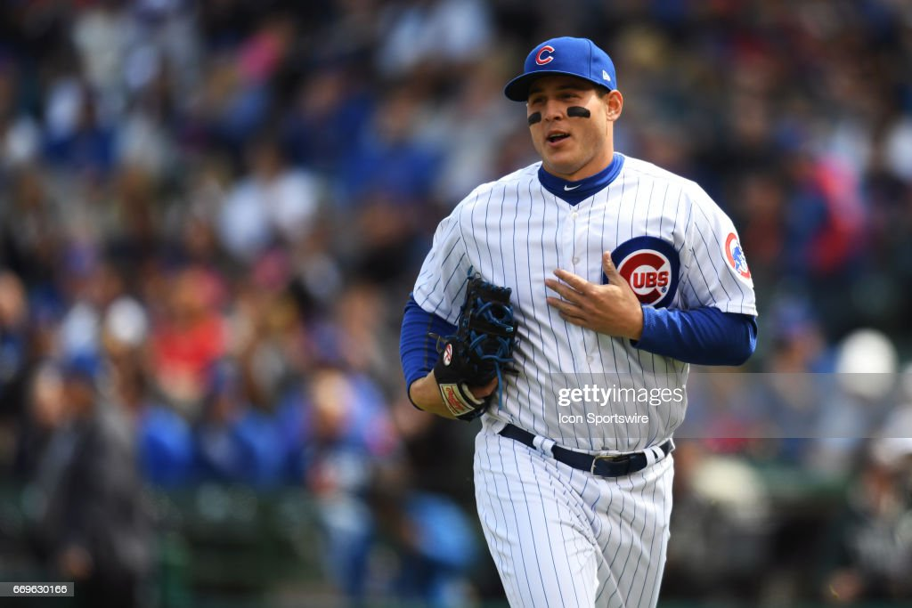MLB: APR 14 Pirates at Cubs : News Photo