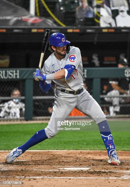 Chicago Cubs infielder Kris Bryant hits a grand slam in the top of the 3rd off of Chicago White Sox pitcher Dane Dunning during a Major League...