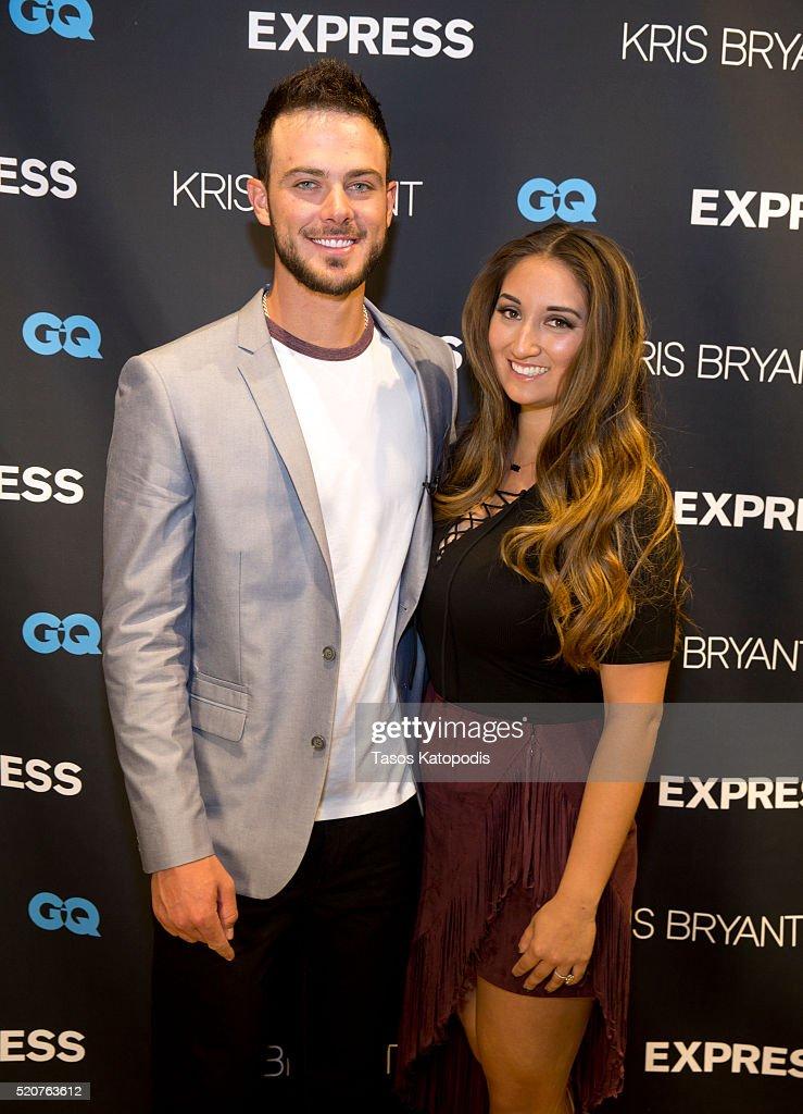 EXPRESS Launch Event for Men's Brand Ambassador Kris Bryant