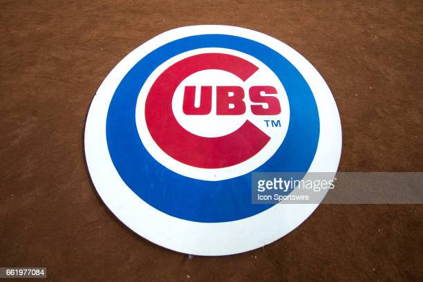 Chicago Cubs Logo Stock Photos And Pictures Getty Images