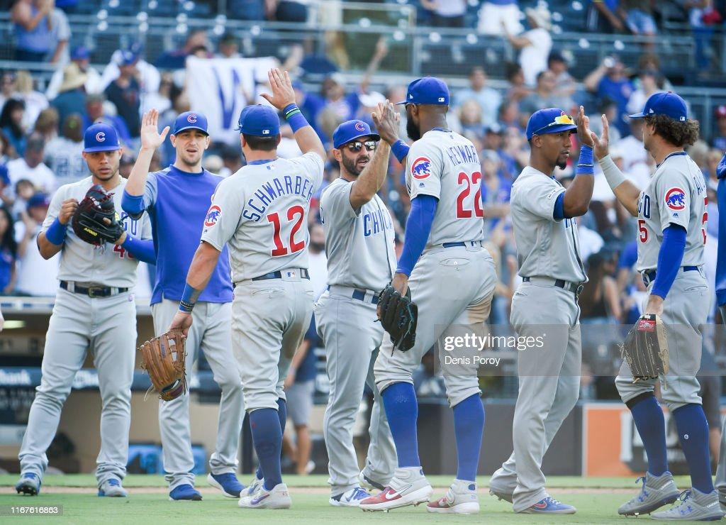Chicago Cubs v San Diego Padres : News Photo