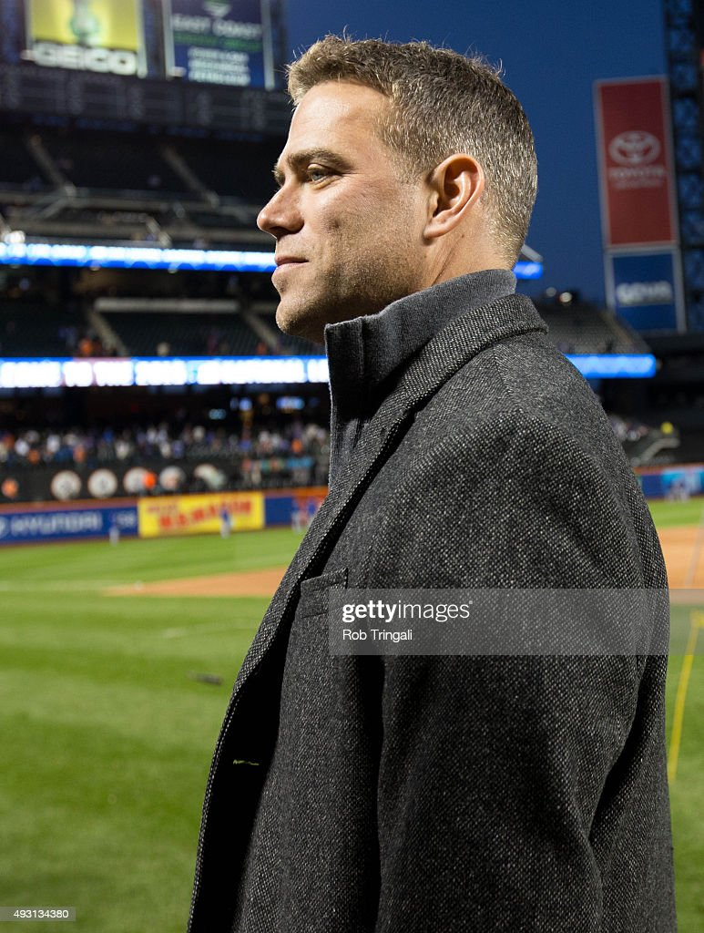 NL Championship Series: Chicago Cubs v. New York Mets Game One : News Photo